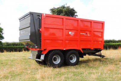 Burdens Group Limited Ktwo Compact and Push Trailers Spreaders for Sale Lincolnshire