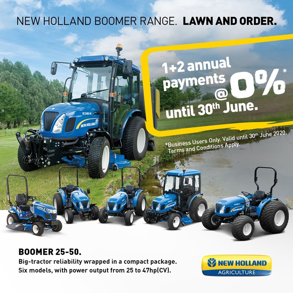 New Holland Boomer Compact Tractor Deals