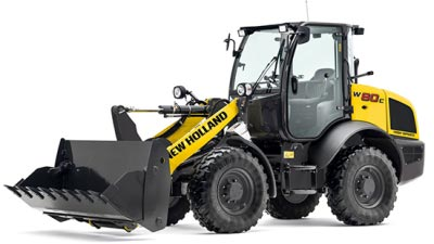 Burdens Group Limited New Holland Compact Wheel Loader For Sale UK