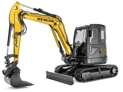 Burdens Group Limited New Holland Mini Crawler Excavators For Sale UK