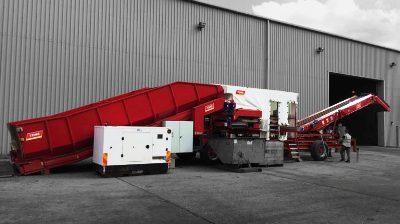 Goodacres Produce Handling Tong Engineering Field Loader For Sale UK