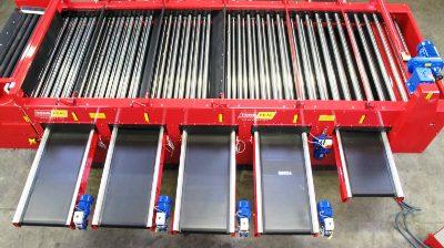 Goodacres Produce Handling Tong Engineering Lift Roller Grader For Sale UK
