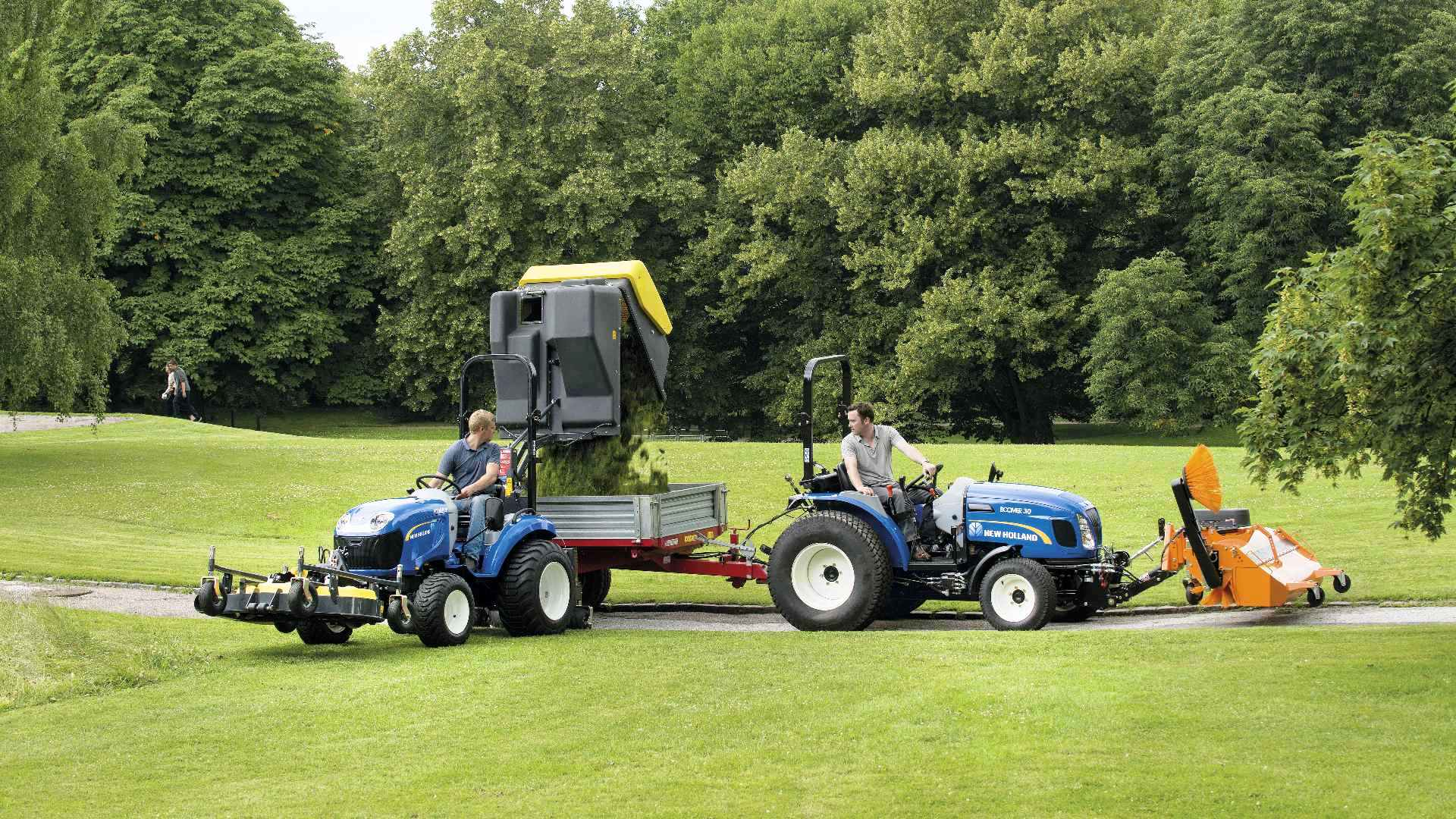 Burdens Group Limited New Holland Boomer Compact Tractor Deals