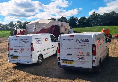 Burdens Group Limited Goodacres Produce Handling Service Vehicle