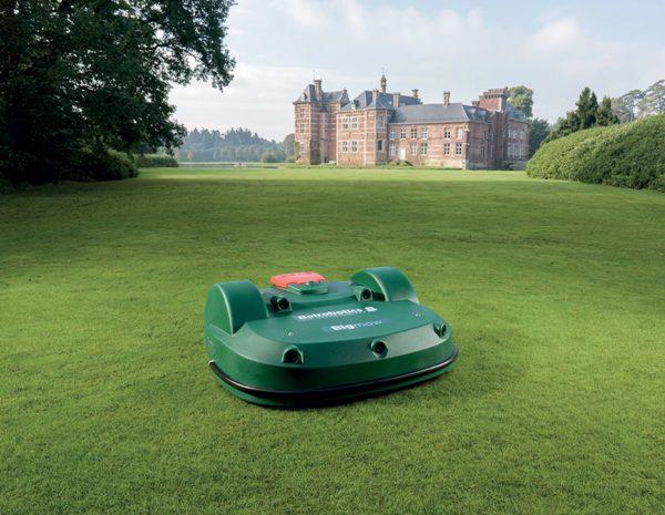 The Burdens Group AMS Belrobotics-Bigmow Mower