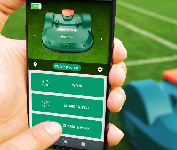 The Burdens Group AMS Belrobotics Mobile App