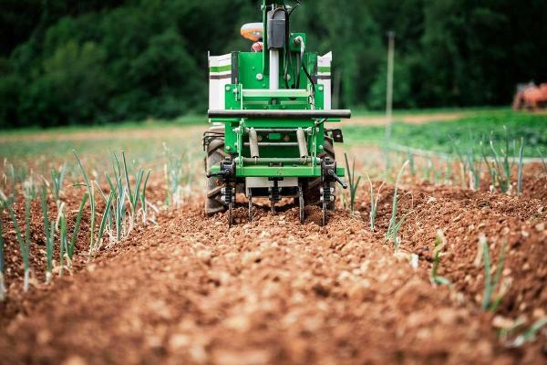 The Burdens Group Naio Technologies OZ weeding robot