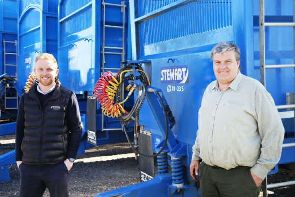 Stewart Trailer Hire for Lincolnshire Firm GCS Machinery