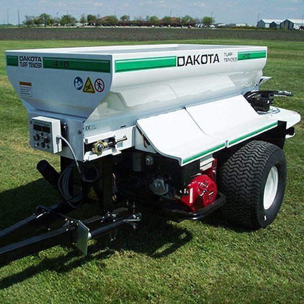 Dakota 410 Trailed Top Dresser for hire