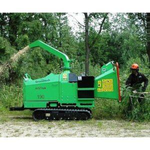 Greenmech Arbtrak 190 Wood Chipper for Hire UK