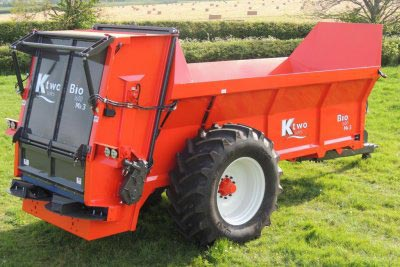 Burdens Group Limited KTwo Sales Muck Spreaders for sale UK